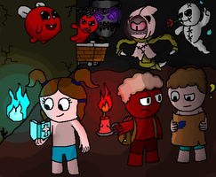 The Binding of Isaac Antibirth : Co-op? by Gianluca850