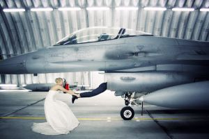 A Pilot And His Wife by PhotoYoung