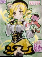Mami Tomoe and Charlotte by anime-freak-2000
