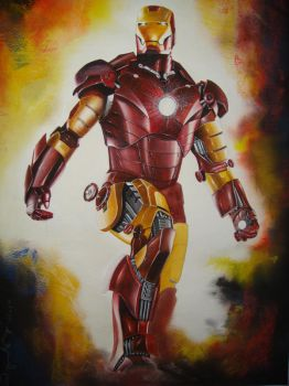 Iron man by lshgsk