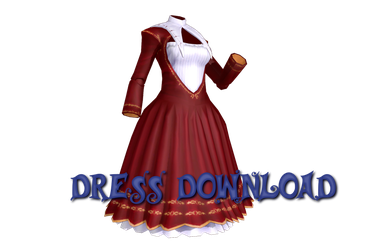 [MMD] {TW} Elegant Dress by Len11999
