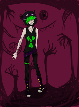 welcome to insanity~ by Narcissistic-Zombie