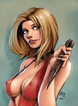 Buffy Summers by SquirrelShaver