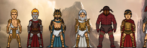 Gods Of Olympus - God of War by Microman181