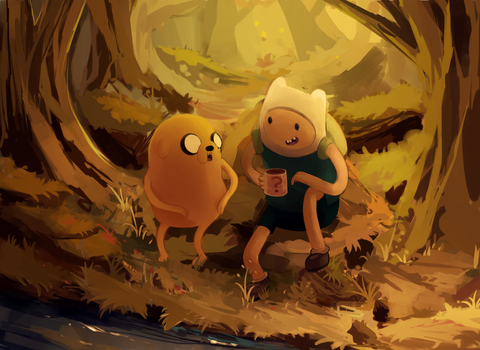 adventure time by Razzleluff