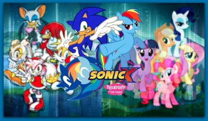 Sonic and Rainbow Dash - Friendship is Universal by MiracleWorker2468