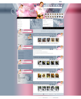 Miley Cyrus ~ WordPress Theme by BrielleFantasy