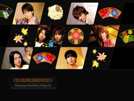 Kanjani 8 - Black wallie by o0-Gothic-Kitty-0o