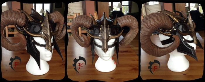 Viking/Barbarian helm by Feral-Workshop