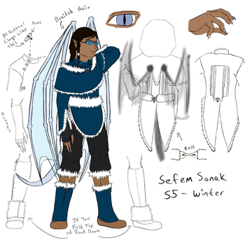 AoH - Sefem Sonak - Winter Ref by Aisuryuu