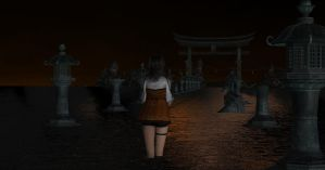 Black Moisture (Stage) - Fatal Frame 5 by TheForgottenSaint47