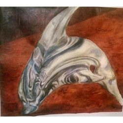 glass dolphin glazing technique by I-rE-nA-216