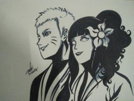 NaruHina by sanistrad