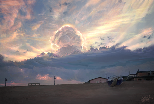 Atomic Clouds by Mitchel93