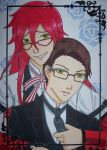 Grell x Will by 2D-Dipper