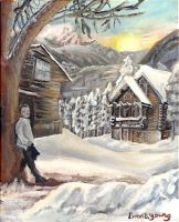 Sonnet of Snow by Sketchee