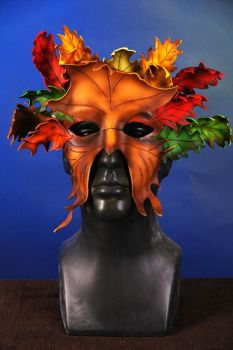 Leaf Mask by marshon