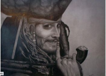 Jack Sparrow by Frosttattoo