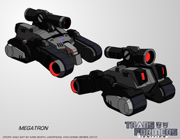 TF:Ignition - Megatron (Alt Mode) by KrisSmithDW