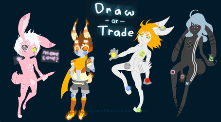 Draw-or-Trade 4 .:Closed!:. by Pietastic-Creations