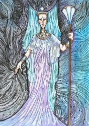 Isis - Lady of Great Magic by hello-heydi