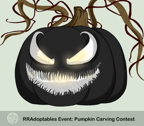 2018 RRA Pumpkin Carving Contest: {Venom} by Ravens-Folklore