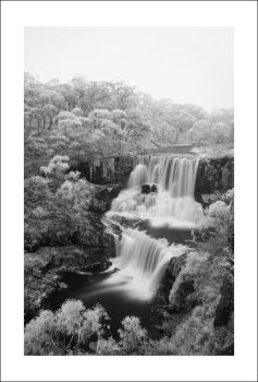 Ebor Falls Infrared by Cameron-Jung