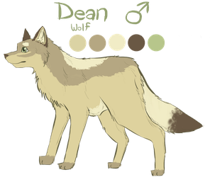 Dean Reference Sheet by TheCookieDoggy