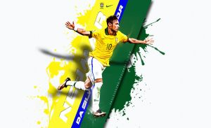Neymar da Silva Santos Junior Wallpaper by eaglelegend