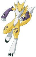 Renamon by goldrenard