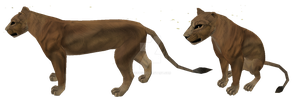 Lioness preset for FeralHeart by Scotis