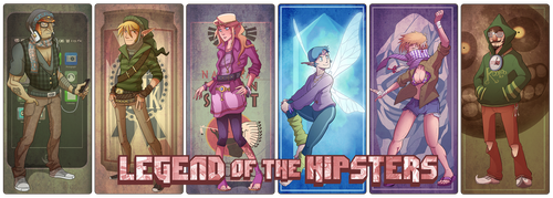 The Legend of the Hipsters Final by CauseImDanJones