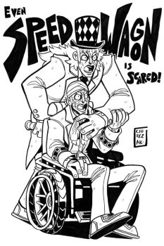 JOJO #2: SpeedWagon by SoulKarl