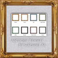 Antique  Frame Pack I - square by MadameM-stock