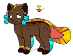 gem inspired anguil adopt (boulder opal)(closed) by Gr33n-DrAg0n