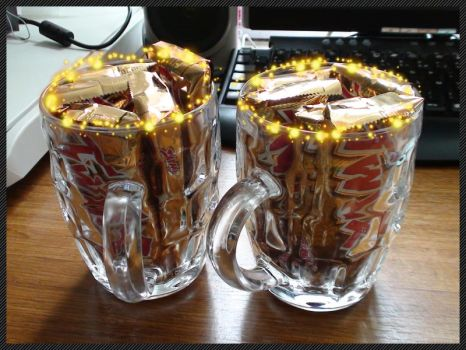 Twix'n beer by MiCrOsCo-PuCe