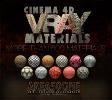 Cinema 4d Vray Materials by arEa50oNe