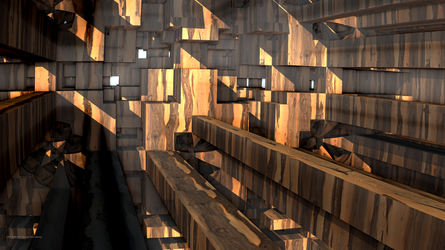 Inside a Wooden Crate by PaMonk