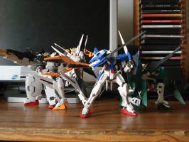 Gundam 00 gunpla by Deadman0087