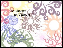 Sun Brushes by KaiPrincess