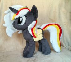 12'' Velvet Remedy Plush :COMMISSION: by AppleDew
