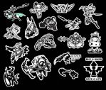 league of legends stickers by LZCCreations