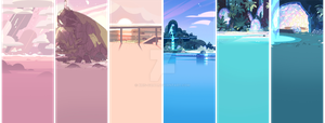 Free Steven Universe Profile Backgrounds by Kris-Goat