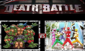 Johnny's Death Battle NO.4-Turtles VS. Rangers by JohnnyOTGS