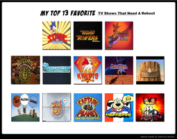Mewmewspike's Top 13 TV Shows That Need A Reboot by mewmewspike