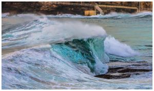 Surfing Tamarama9 by catchaca1