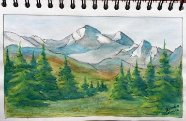 Mountains by Claoodia96