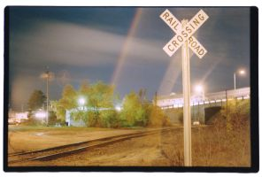 Railroad Crossing by Fukur
