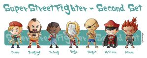 Super Street Fighter Second Set by Costalonga