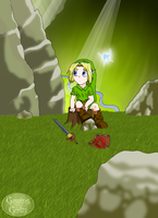 Link in the Lost Woods by GamingGirl73